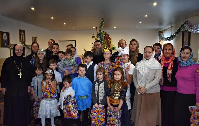 Празднование Рождества Христова в Красносельском монастыре